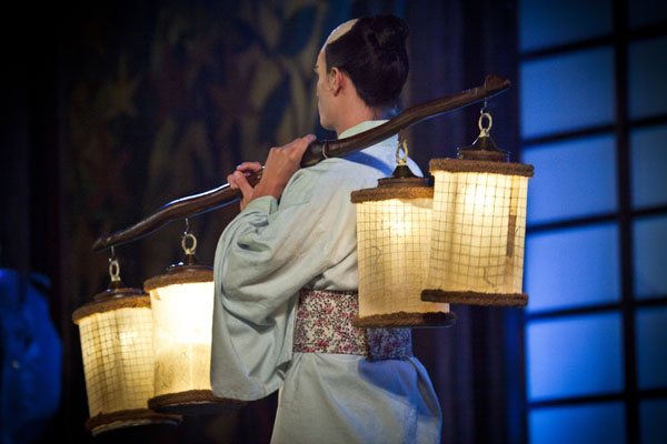 una comparsa in Madama Butterfly