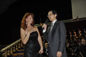 Il Dott Zheng-Hao dell'ambasciata cinese di Roma ospite di Opera in Piazza