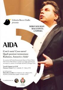 A ODERZO : MIRO SOLMAN RACCONTA L'OPERA - AIDA