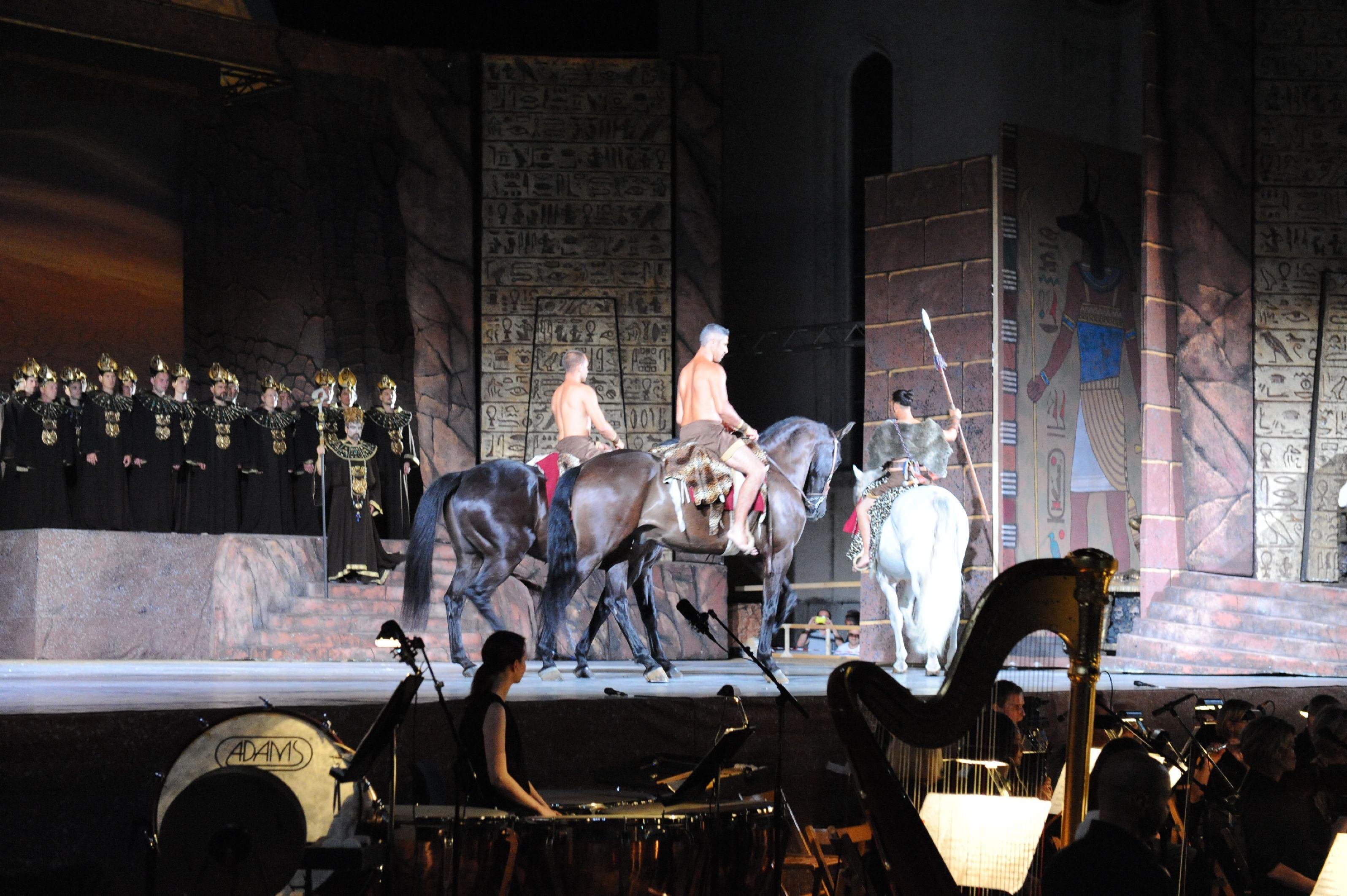 Aida a Oderzo in Piazza Grande : Marcia trionfale