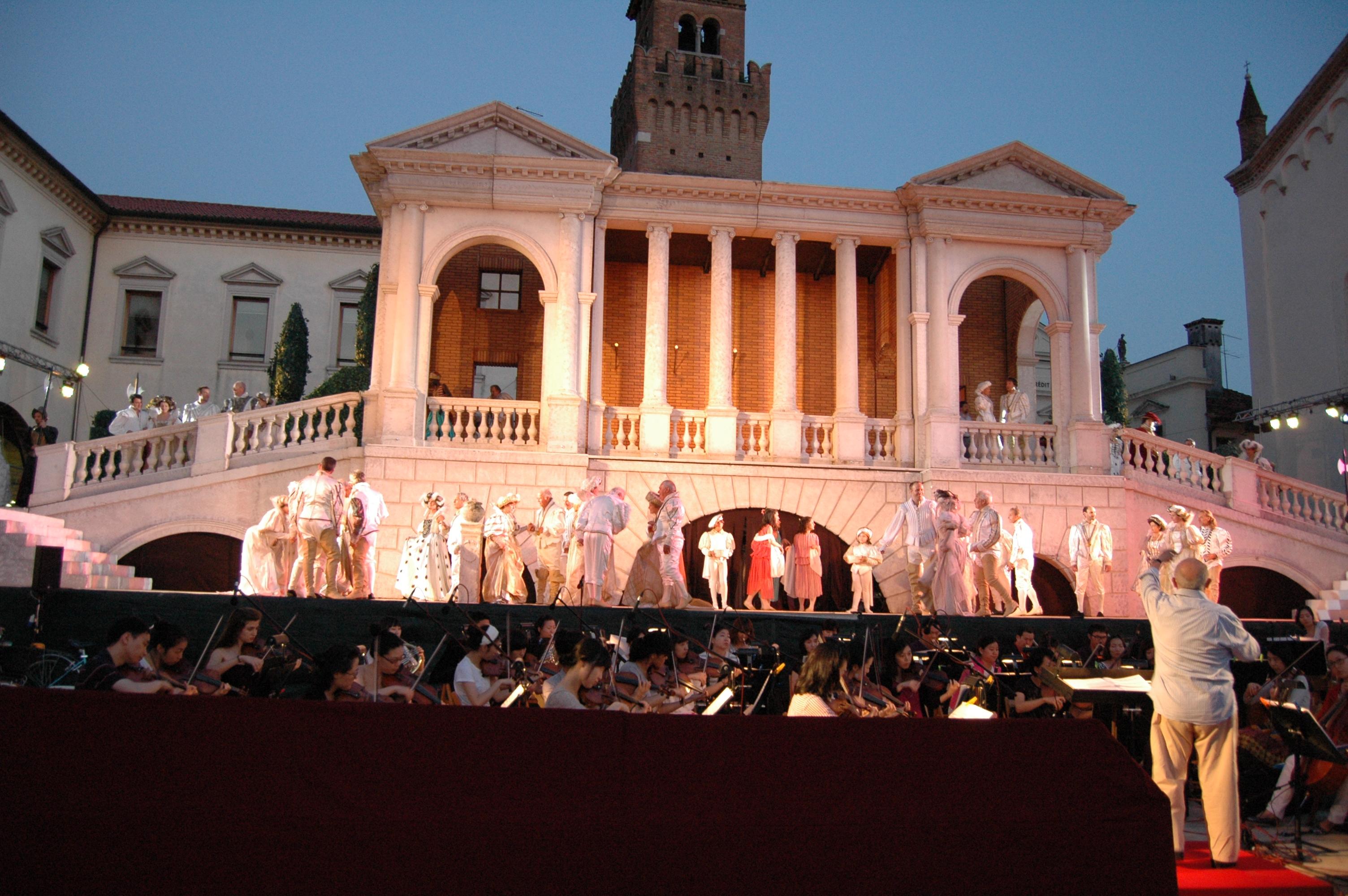 Prova generale di Rigoletto - Piazza Grande di Oderzo