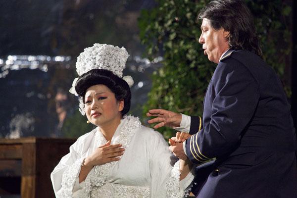 Madama Butterfly : Grazia Lee e  Renzo Zulian