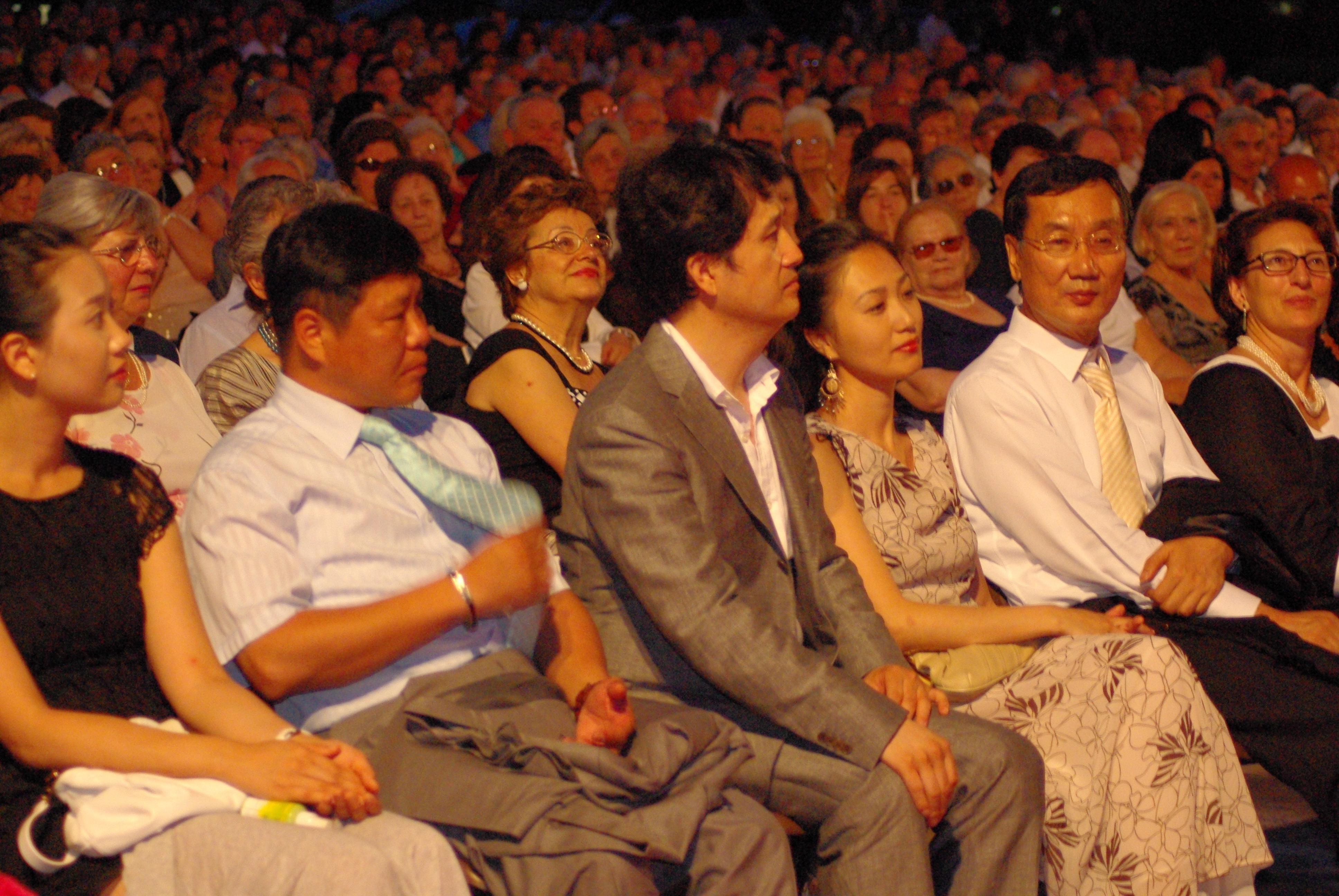 Ospiti coreani al Rigoletto