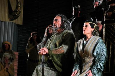 Nabucco in Piazza Grande di Oderzo con il baritono Renato Bruson