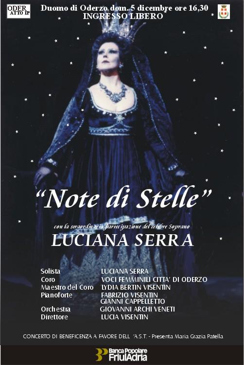 """LUCIANA SERRA nel concerto """"Note di Stelle"""" in Duomo"""