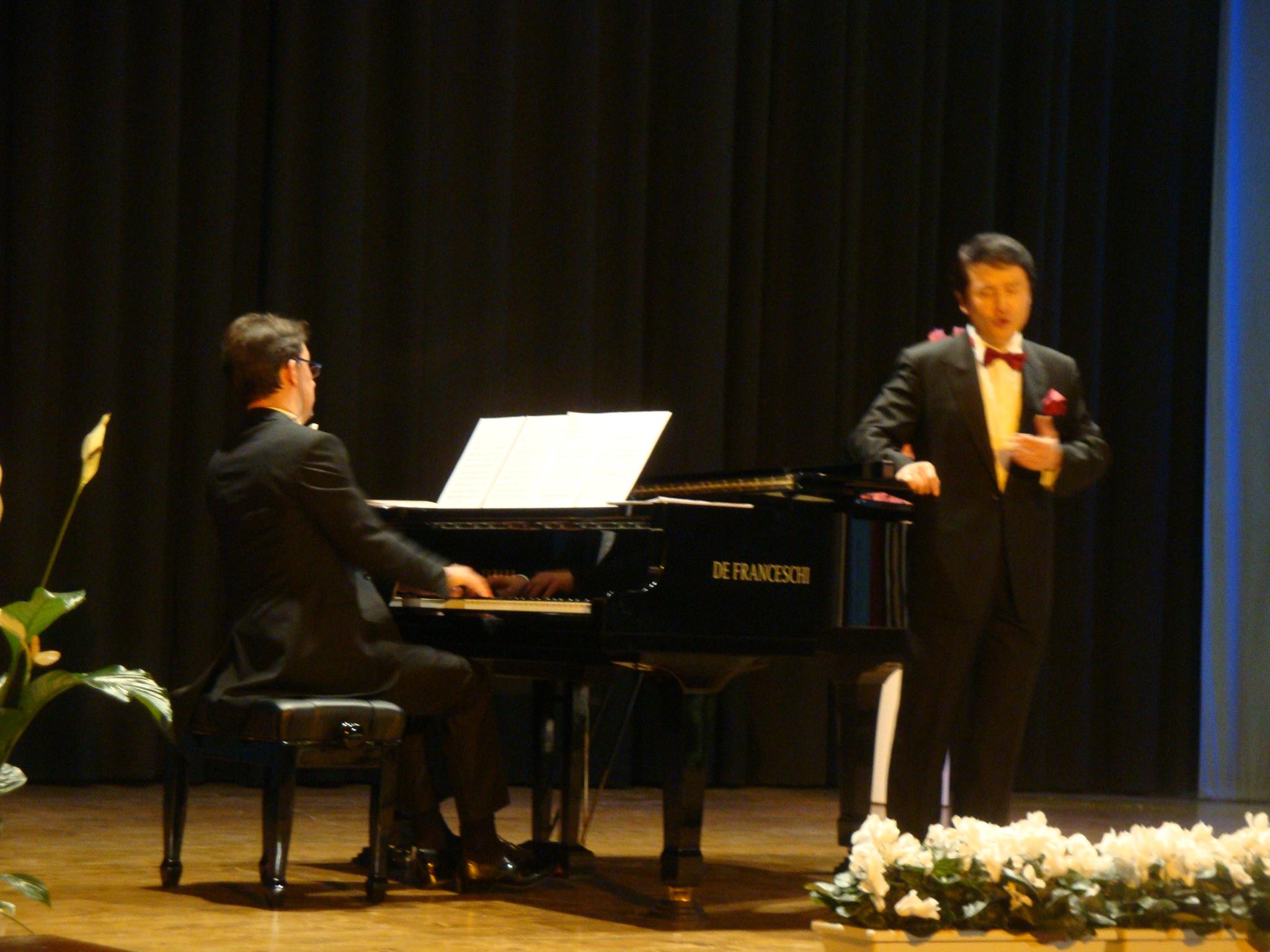 TENORE MATTEO LEE - PIANOFORTE SILVIO CELEGHIN